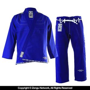 Grab and Pull Premium Blue BJJ Gi 2.0